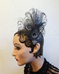 Silver Hair Fascinators For Weddings