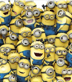 minions | These are the guys. Yup they're really cute. I love the fact that ...