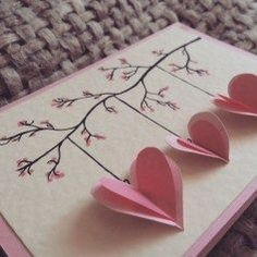 Diy valentines day cards handmade 17