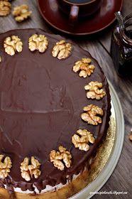 Opowieści z piekarnika: Tort orzechowo - kawowy Baking Recipes, Cake Recipes, No Bake Cake, Deserts, Food And Drink, Sweets, Chocolate, Cooking, Food Cakes