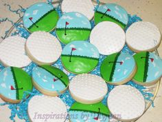 Inspirations by Thyjuan LLC.: Golf Cookies