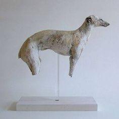 Ceramic animal sculpture.