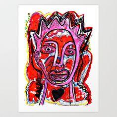 Dimoni Marieta Art Print by ALOU - $12.48