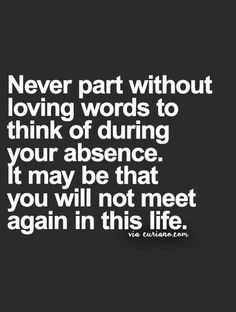 AMEN!!! too often this HAS been the case. And will NEVER be again!