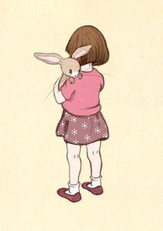 Belle & Boo `Kaart Belle Hugs Boo` | Belle & Boo | Petite Louise