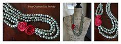 (2) Irma Guzman Handmade Eco Jewelry