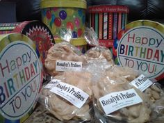 A Taste of New Orleans, Rosalyn's Pralines, the best in quality and taste where you cannot eat just one! Happy Birthday Gifts, Special Day, New Orleans, How To Memorize Things, Stuffed Mushrooms, Presents, Nyc, Etsy Shop, Candy