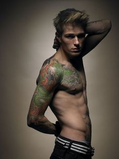 Boy,Hot,Man,Sexy,Tatto - inspiring picture on PicShip.com
