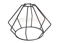 Rejilla jaula para el montaje de lámparas