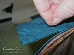 Sewing Tips & Tricks Sewing with Curved Needles If you've ever had to hand sew curved pieces of fabric together such as curved bag gussets, then you know h