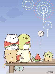 Sumikko gurashi watermelon