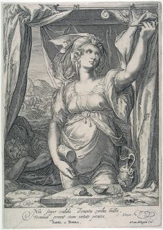 Jan Saenredam after Hendrik Goltzius