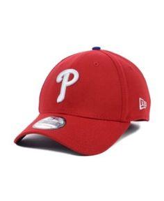New Era Philadelphia Phillies Mlb Team Classic 39THIRTY Cap - Red M/L