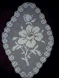 Crochet Placemats, Crochet Table Runner, Crochet Doilies, Baby Knitting, Crochet Baby, Knit Crochet, Thread Crochet, Filet Crochet, Cross Stitch Patterns