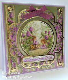Made using Hunkydory Garden Secrets Collection.