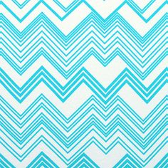 Azure Blue Linear Chevron Cotton Jersey Blend Knit Fabric - A Girl Charlee Exclusive!  A top quality cotton jersey rayon blend knit in a season trend azure turquoise blue variegated chevron stripe on a subtle off white color.  Fabric is a light to medium weight with a really smooth hand and a nice stretch.   Boldest chevron measures 4