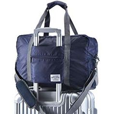 Arxus Travel Lightweight Waterproof Foldable Storage Carry Luggage Duffle  Tote Bag (Navy Blue) b55c0189027ce