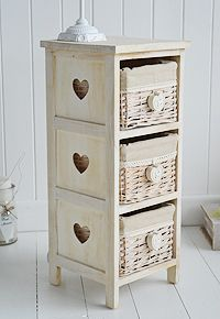 Side View Of Dorset Narrow White Bedside Table Home Pinterest