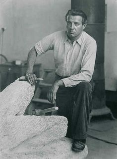 Fritz Wotruba (1907 – 1975) was an Austrian sculptor, he increasingly dissolves figurative components in favor of geometrical abstraction with the shape of the cube as the basic form.