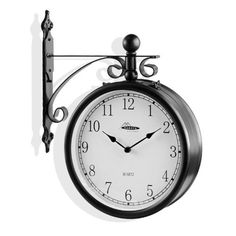 ClassicTrain Station Clock Dual Sided - Metal Body & Wall Bracket - No Wiring Needed by GAP, http://www.amazon.com/dp/B0092TFCOO/ref=cm_sw_r_pi_dp_tjH3qb1K6SN7H