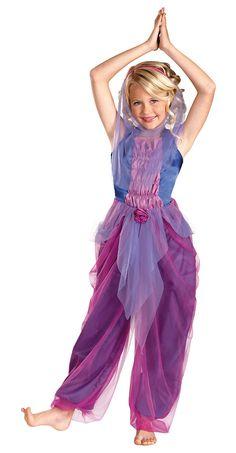 Girls Garden Genie Costume