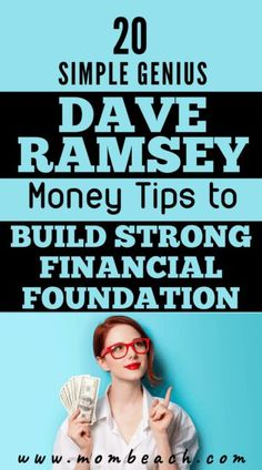 Dave Ramsey Tips: 20 Simple Money Tips You Need To Know Now!