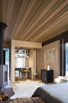 gulf islands cabin in british coumbia. designed by olson kundig architects.