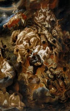 The Last Judgment (c. 1640 / Cropped) - Jacob Jordaens