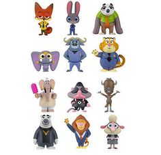 12x disney zootopia edible standup #wafer card cupcake #topper birthday #party,  View more on the LINK: 	http://www.zeppy.io/product/gb/2/252314777695/