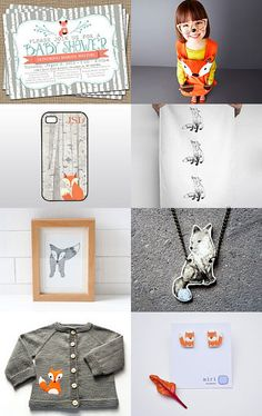 #fox, #foxy, #treasury, #treasuries, #etsy, #abeillia, #fichate