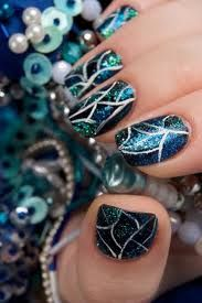 Stain glass nails  #stllc
