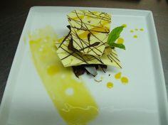 Milhojas de chocolate y praliné de avellanas con reducción de naranja para #Mycook http://www.mycook.es/receta/milhojas-de-chocolate-y-praline-de-avellanas-con-reduccion-de-naranja/