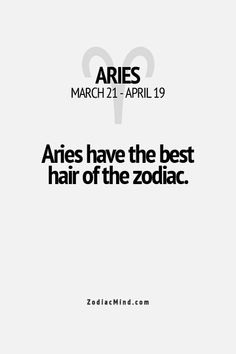 Fun facts about your sign here...interesting to read today, just got 2 compliments on it by 2 separate people...must be having a good hair day today ;)