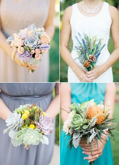 The Green Alternative! 32 Stylish Ways to Use Succulents In Your Wedding!