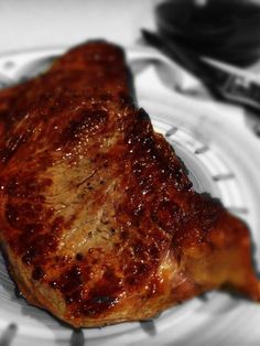 new york strip steak recipes oven cooking cooking new york strip steak in oven . new york strip steak recipes oven cooking . cooking a new york strip steak in the oven Steak Au Four, Ny Steak, Ny Strip Steak, Beef Steak, Venison, Strip Steak Recipe Oven, Oven Baked Steak, Beef Dishes, Appetizers