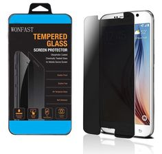5. WONFAST Premium Privacy Anti-spy Tempered Glass Screen Protector