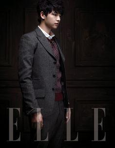 Song Joong Ki in Elle Korea September 2012