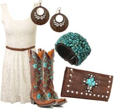 """Turquoise.....3"" by rinergirl ❤ liked on Polyvore"