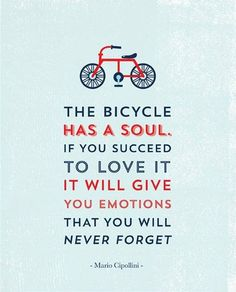 The bicycle has a soul. @tonikcycling