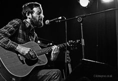 Alasdair Roberts at the Midsummer Music Festival in Gatehouse