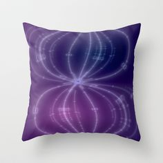 AetherealVibesSeries077 Throw Pillow by fracts - fractal art - $20.00