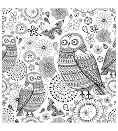 To print this free coloring page «coloring-difficult-owls», click on the printer icon at the right
