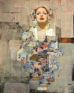 "Richard Burlet (1957-Present) Considered an abstract-figurative artist, Richard Burlet creates paintings born of an inspiration that is French by inclination and Viennese by influence. The complex imagery of Burlet's figurative paintings pays homage to a tradition in art that reigned supreme in Vienna in the late 1800s. The art, architecture and design of Vienna's ""Golden Age"", and the highly praised works of Gustav Klimt, are the greatest influences on Burlet's artwork."