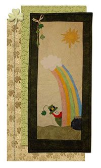 Sneak Peek Tiny Treasures Wallhanging Pattern by 2 Easy Designs at KayeWood.com. Don't blink or this lucky leprechaun will vanish with the treasure. This adorable wall hanging will easily fit into any nook in your home. http://www.kayewood.com/item/Sneak_Peek_Tiny_Treasures_Wallhanging_Pattern/2974 $9.95