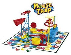 Mouse Trap: an increbibly complicated game that changed the way I looked at board games. Fun, if you could make it work! 90s Childhood, My Childhood Memories, Childhood Games, Retro Toys, Vintage Toys, 1960s Toys, Retro Vintage, Barbie, I Remember When