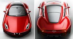 Disco Volante [2012 Concept] by Alfa Romeo & Touring Superleggera
