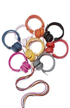 Colorful headphones - great presentation