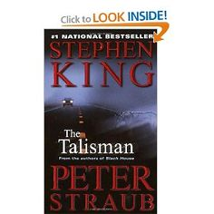 The Talisman by Stephen King and Peter Straub.  I've read it before but this was years ago and I'm getting ready to re-read the Dark Tower series (new book coming!) and I want to include all the books with Dark Tower tidbits.