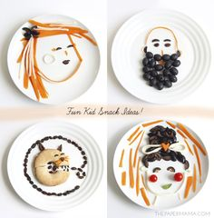 Fun Kid Snack Ideas for after school healthy snacking// thepapermama.com