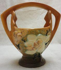 Roseville Magnolia Basket - #383-7